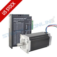 1 Axis Stepper CNC Kit 425oz.in Nema 23 Stepper Motor & Digital Stepper Driver