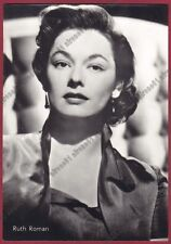 RUTH ROMAN 08b ATTRICE ACTRESS ACTRICE CINEMA MOVIE Cartolina FOTOGRAF.