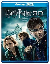 Harry Potter and the Deathly Hallows Part I BLU RAY 3D + BLU RAY NEW!