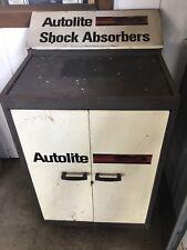 Original Autolite GT logo shock absorbers cabinet top bin tray!  Boss 429 Shelby