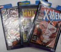 Marvel Legends Comic Lot of 3 Fantastic Four ,Hulk,X-men 012916DBFL