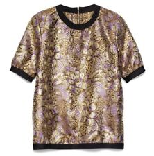MARNI at H&M Exclusive Jacquard Top Blouse. Size  EUR 34
