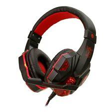 Cuffie da Gioco per PS4 Gaming con 3.5mm Jack LED Microfono Bass Stereo