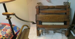 Antique Anchor Brand wash tub clothes wringer #770, by Lovell Mfg., Erie PA