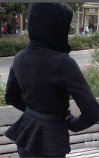 Lululemon Scuba Hoodie *SE Special Edition Ruffled Up Jacket Sz 10 BlacK❤️