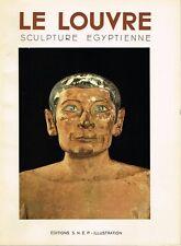 Vandier LA SCULPTURE ÉGYPTIENNE AU MUSÉE DU LOUVRE SNEP Illustration