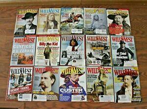 Wild West Magazine 2005 2006 2007 2008 15 Magazines Cowboys Indians History