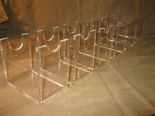 12  Acrylic Vintage Antique & Western Revolver Pistol Firearms Display Stands