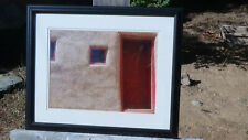 """New Mexico Classic ART Photo """"Door & Adobe Wall"""" by Christopher Hall"""