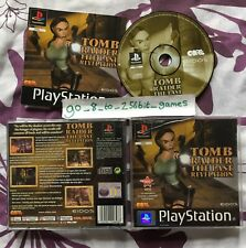 Tomb Raider: The Last Revelation (COMPLETE) Lara Croft Black label PlayStation 1