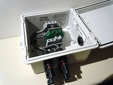 MC4 Connectors - Pre-wired Solar Panel Combiner Box - 2-String PV Power Combiner