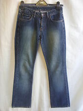 "Ladies Jeans - DKNY, 27/28""W, 31.5L, slight bootcut, stylish, faded front - 7342"