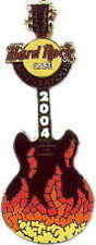 Hard Rock Cafe MINNEAPOLIS 2004 MOSAIC Flames GUITAR PIN - HRC Catalog #23537