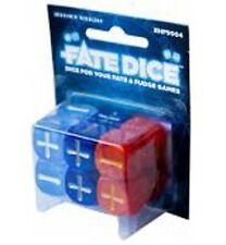 Fudge Dice - Fate Dice - Dresden Files Winter Knight