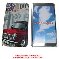 Pellicola+custodia BACK COVER IMD LONDON ST per Samsung Galaxy Note 3 N9000 (B6)