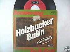 "7"" SINGLE BOEMERANG TIROLER HOLZHACKER BUBN DE B-KANT"