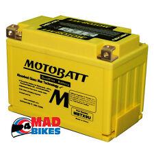 MOTOBATT MBTX9U Batería 20% Potencia Arranque adicional SUZUKI BANDIT