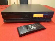 Grundig Compact Disc Player CD 3000 mit Fernbedienung Vintage Rarität