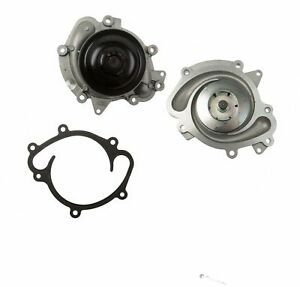 Water Pump Eight Groove Pulley Hepu 6422001001 for Mercedes E320 ML320 W164 W211