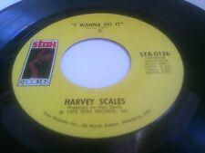 "Harvey Scales I Wanna Do It Rare 1972 U.S. 7"" Stax STA-0126"