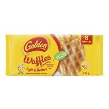Golden Light & Buttery Waffles 8 pack 220g