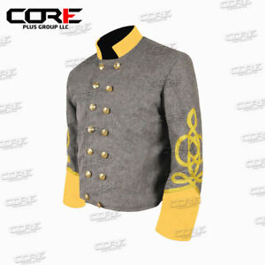 Civil War Confederate Cavalry General 4 braid Shell Jacket -All Sizes Available!