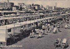 RICCIONE - Cabine al Mare 1956
