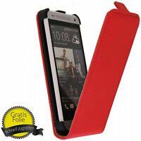 Téléphone Portable Housse à Clapet Étui Bumper pour HTC One Mini M4 +Film