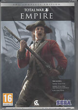 Empire Total War The Complete Edition w/ The Warpath Campaign and All Unit Packs