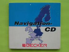CD NAVIGATION BECKER TRAFFIC PRO 7.0 DTM MERCEDES BENZ BMW VW AUDI PORSCHE SAAB