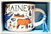 "**Starbucks ""Been There"" 2oz. Mug Ornament -- MAINE -- BRAND NEW! SHIPS FAST!**"