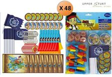 Disney Jake and the Never Land Pirates 48 Pc Mega Mix Favour Pack Party Supplies