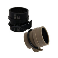 Tactical Front Lens KillFlash Metal Mesh Cover Protector For ACOG Scope(BK/DE)