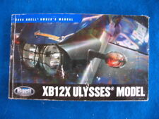 Buell 1008 XB12X Ulysses Original Factory Owners manual P681