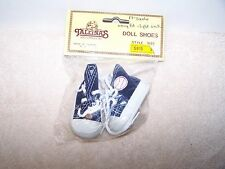 "Doll  Shoes  Blue/White 17"" Sasha Boy Doll  S915 Baseball Sneakers SNUG FIT"