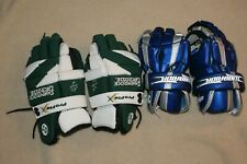 Lacrosse Gloves Warrior Shamrock Preowned Free Shipping!