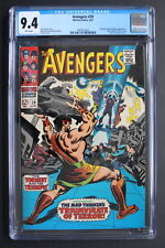 AVENGERS #39 HERCULES 1967 1st Triumvirate of Terror & Mares of Diomedes CGC 9.4