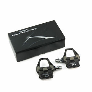 Shimano Ultegra PD-R8000 +4mm Long Spindle Carbon Road SPD SL Cycling Pedals