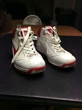 Mens Nike Air Max Lebron Vii Nfw White Red Woven Size 10 (383578-161)