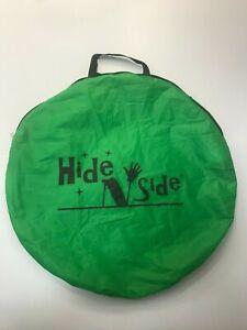 Hide N Side Children's Toy Crawl Through Tunnel 4.5ft + Case Good Condition