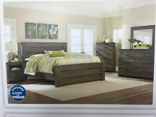 Haywood Bedroom Set NEW with Dresser, Night Stand, and Lamp - 4 Piece