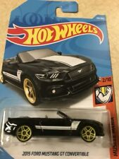 2018 HOT WHEELS 2/10 MUSCLE MANIA 2015 FORD MUSTANG GT CONVERTIBLE 291/365