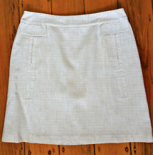 VERONIKA MAINE Linen Regular Dry-clean Only Skirts for Women