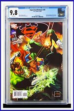 Superman Batman #29 CGC Graded 9.8 DC October 2006 White Pages Comic Book