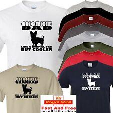Chorkie t shirt dad grandad or owner
