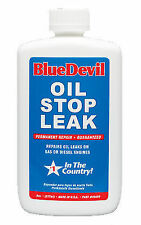 49499 Blue Devil Permanently seals Oil Stop Leak Gas or Diesel engines 8oz