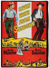 Seven Ways from Sundown 1960 DVD - Audie Murphy, Barry Sullivan
