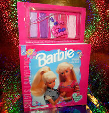 1997 Barbie Friends To The End Storybook w/ friendship bracelet supplies vintage