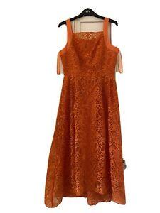 Stunning Orange Coast Dress