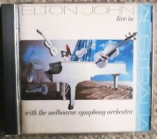 Elton John Live in Australia 1st First Press Made In Japan MCA 8022 Very Clean